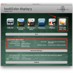 basICColor display 5 - Save Preset