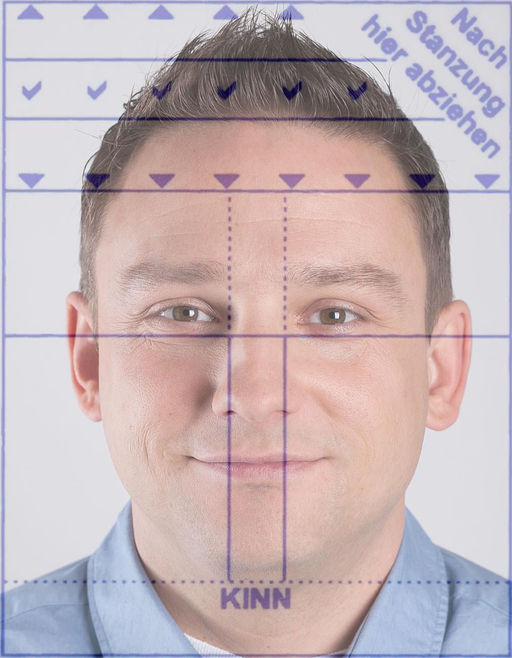 Erfreut Photoshop Passfoto Vorlage Zeitgenössisch ...