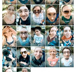 Flickr BBQ 4.0 – das Fisheye im Einsatz